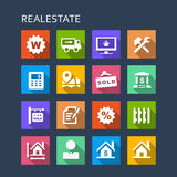 Real Estate icon Stock Image