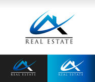 Real Estate House Roof Icon Stock Photos
