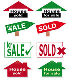 Real estate icon set Stock Image