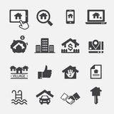 Real estate icon vector illustration
