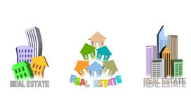Real estate illustration Stock Photos