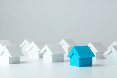 Real estate industry Royalty Free Stock Photos