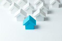 Real estate industry Royalty Free Stock Image