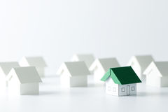 Real estate industry Royalty Free Stock Images