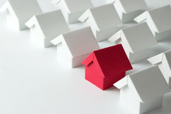 Real estate industry Stock Image
