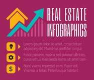 Real Estate Infographic Element Royalty Free Stock Photos