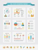 Real Estate Infographic Elements. Stock Photo