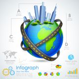 Real estate Infographic Royalty Free Stock Photography