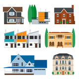 Real estate. Infographic set icons Stock Photography