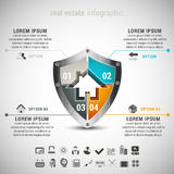 Real Estate Infographic Stock Photos