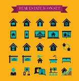 Real Estate Infographics. Royalty Free Stock Photos