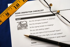 Real Estate Inspection Report Royalty Free Stock Photos