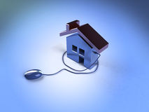 Real estate on the internet Stock Images