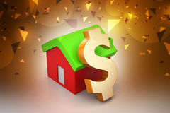 Real estate investment concept Royalty Free Stock Photo