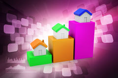 Real estate investment concept Royalty Free Stock Images