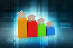 Real estate investment growth concept Royalty Free Stock Photo