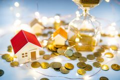 Real estate investment or property marketing royalty free stock photo