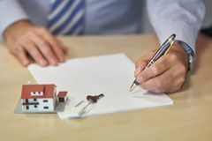 Real estate investment royalty free stock photo