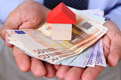 Real estate investment. Success, Business, financial growth, profit, dividends concept Royalty Free Stock Photography