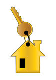 Real estate key - vector Stock Photo