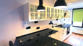 Real estate kitchen stock video footage