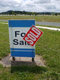 Real estate: land for sale - v royalty free stock photo