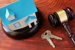 Real Estate Law concept. Royalty Free Stock Photo