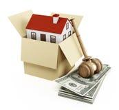 Real Estate Licytuje Zdjęcia Royalty Free