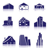 Real Estate loga set Zdjęcie Stock