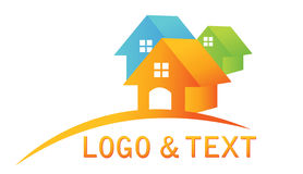 Real estate logo Royalty Free Stock Images