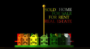 Real Estate Logo Stock Image