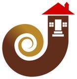 Real estate logo. Isolated illustrated real estate logo design vector illustration