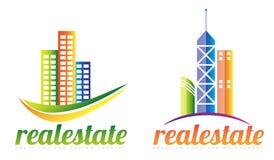 Real estate logo Stock Photos
