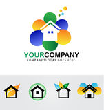 Real estate logo Stock Photo
