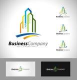 Real Estate Logo Design Imagen de archivo