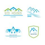 Real Estate Logo Design Fotografia Stock