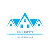 Real Estate Logo Design Immagini Stock Libere da Diritti