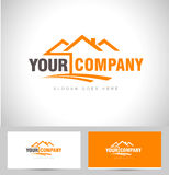 Real Estate Logo Royalty Free Stock Image