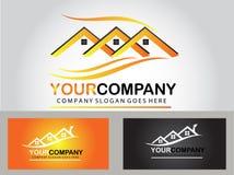 Real estate logo design Stock Photo
