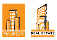 Real estate logo Royalty Free Stock Image