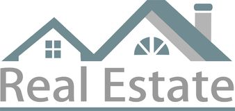 Real estate and logo image Stock Image