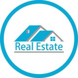 Real estate and logo images Royalty Free Stock Photo