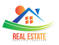 Real estate logo Stock Photos