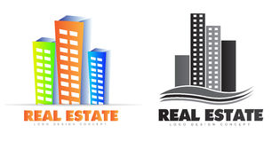 Real estate logo Stock Images