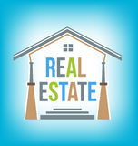 Real Estate Logo Royalty Free Stock Photo