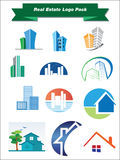 Real Estate Logo Pack Stock Photo