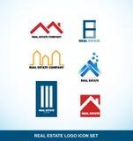 Real estate logo set Stock Images