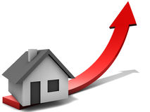 Real Estate Market. Positive Outlook on the real estate market development Stock Photography
