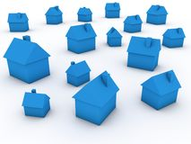 Real estate market Stock Images