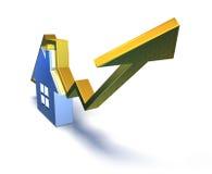 Real estate market Stock Image
